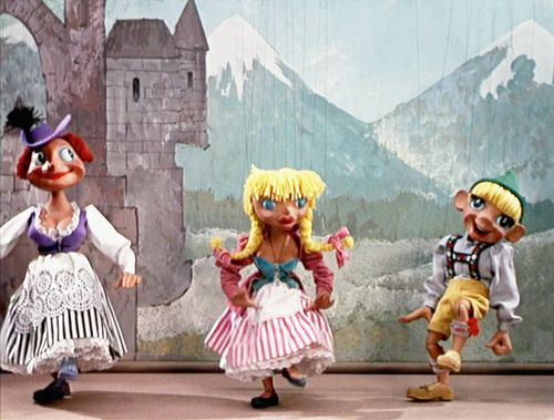Sound of Music Puppets | Sound of music movie, Sound of ...