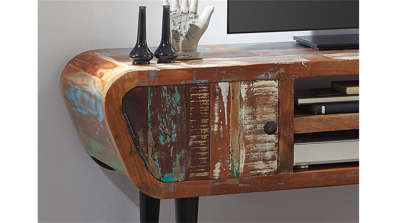 Lowboard Himalaya 3761 old recycled wood von Wolf Möbel | vintage ...