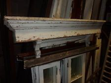 "c1870 DENTIL style WINDOW pediment VICTORIAN lintel ~ header 56 x 6.5 x 9/"""