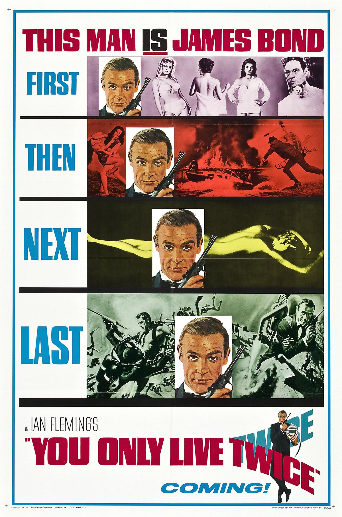 James Bond Movie Posters For Sale