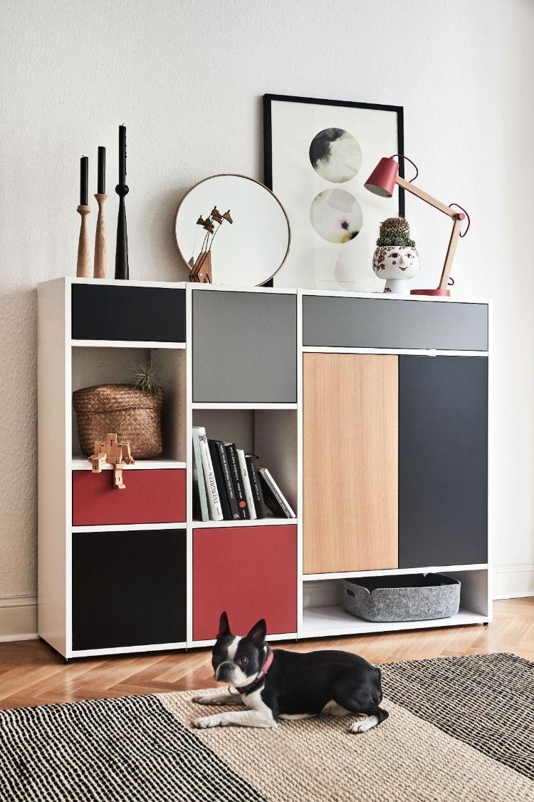 Shelves Highboards Wohn Design Gestalten Wohnzimmer