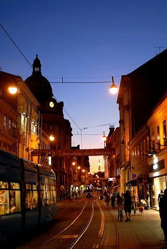 Zagreb Croatia Zagreb Night Life Zagreb Croatia