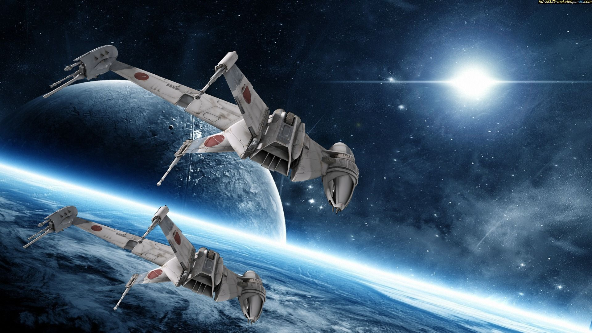 Space War Wallpaper Schepen