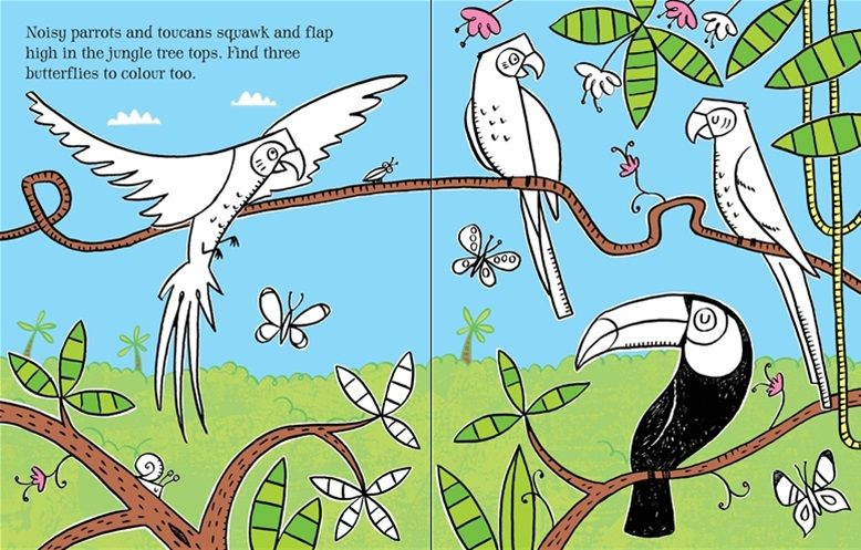 Comfortable Coloring Book Wallpaper Huge Coloring Book App Solid Bulk Coloring Books Animal Coloring Book Young Animal Coloring Books OrangeBig Coloring Books See Inside First Colouring Book: Jungle #usborne #childrens #books ..