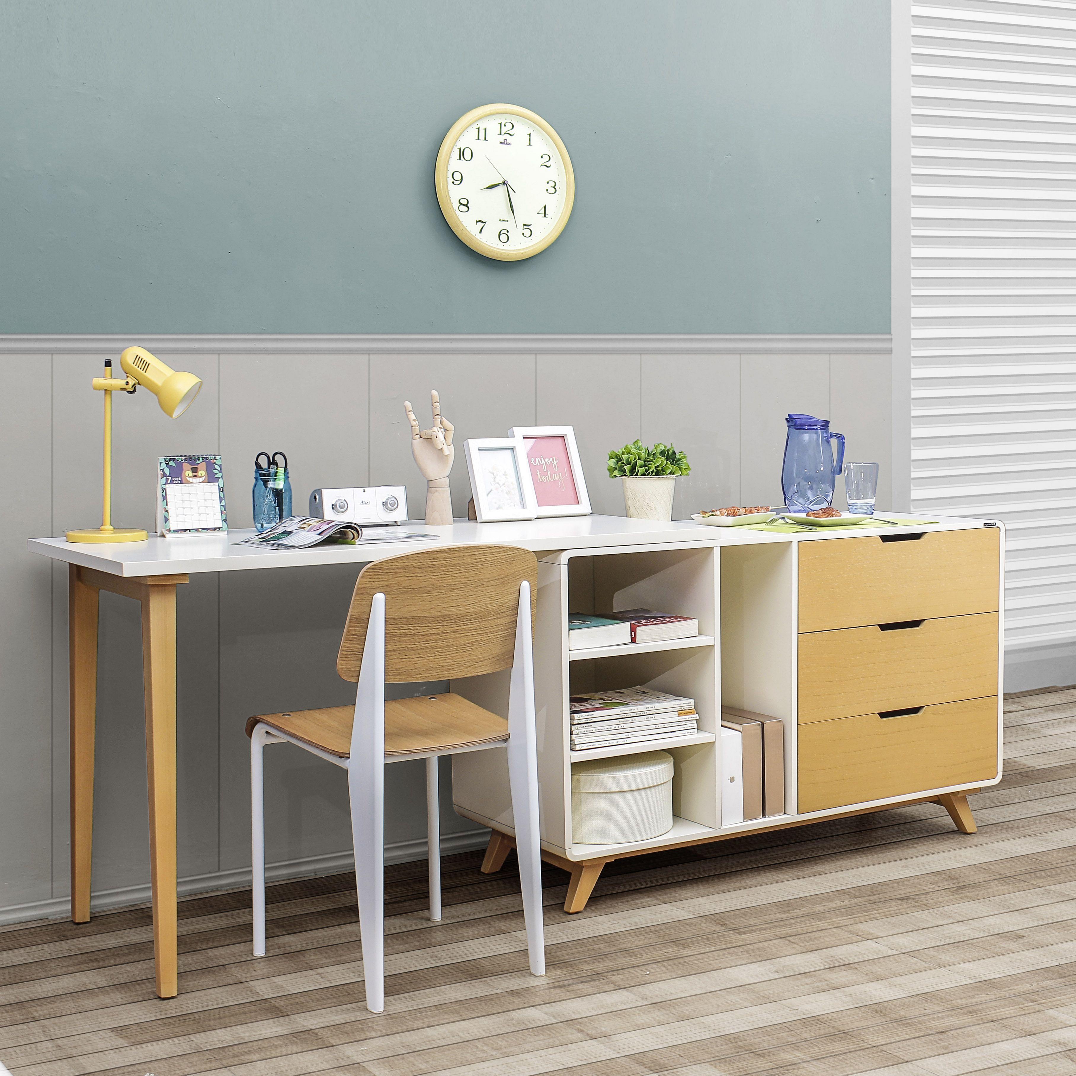 25 Amazing Study Desk Designs So That Children Learn Comfortably Desk Design Smart Table Study Desk