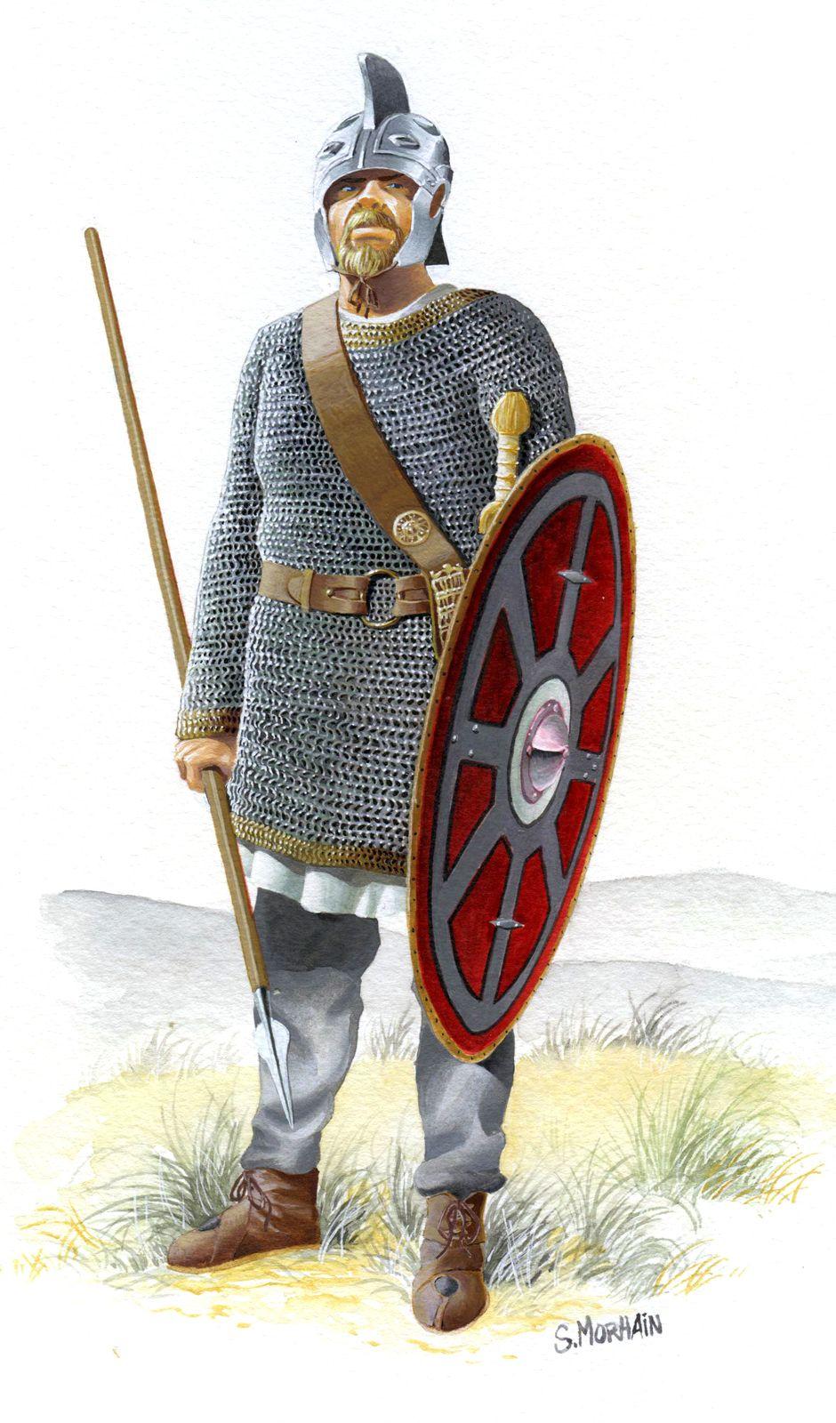 Pin by Niht Dihter on ВОИНЫ ПОЗДНЕГО РИМА | Roman armor
