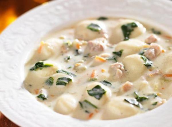 Olive garden chicken gnocchi soup recipe - Olive garden wedding soup recipe ...