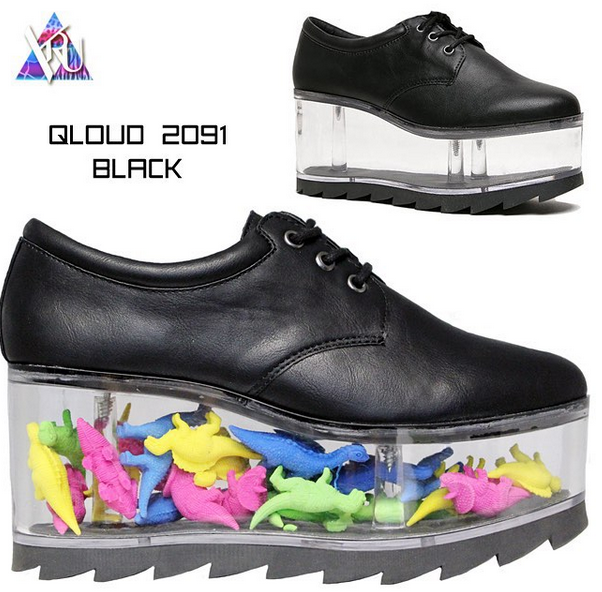 b0735d00d2f New YRU s! Customise them by filling the transparent platform soles ...