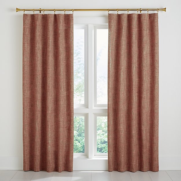 Reid Canyon Curtain Panel Crate And Barrel In 2020 Panel