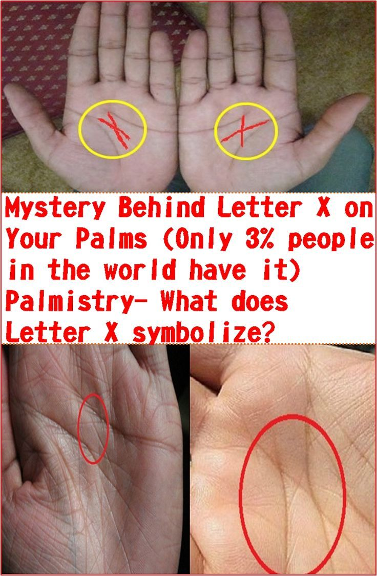 Mystery Behind Letter X on Your Palms Only 3 people in the world have it Palm