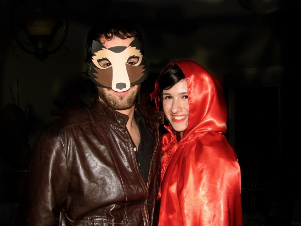 Little red riding hood and wolf mask diy halloween costumes - halloween costume ideas for men diy