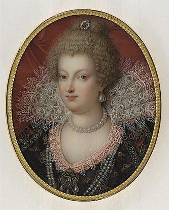 Marie de Medici by Marie Victorie Aquitot, 19th c.