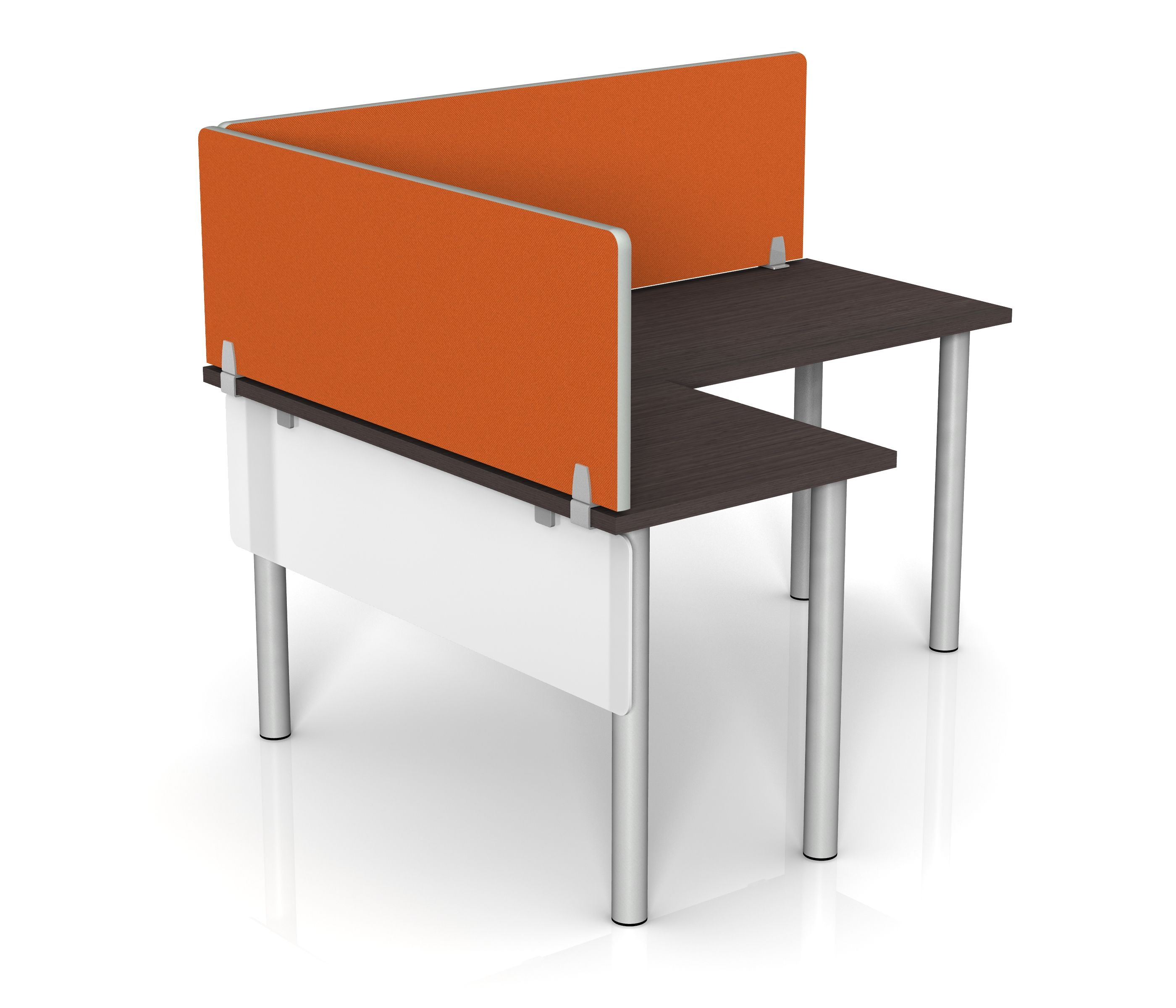 fabric desk dividers by merge works  desk dividers  pinterest  - fabric desk dividers by merge works
