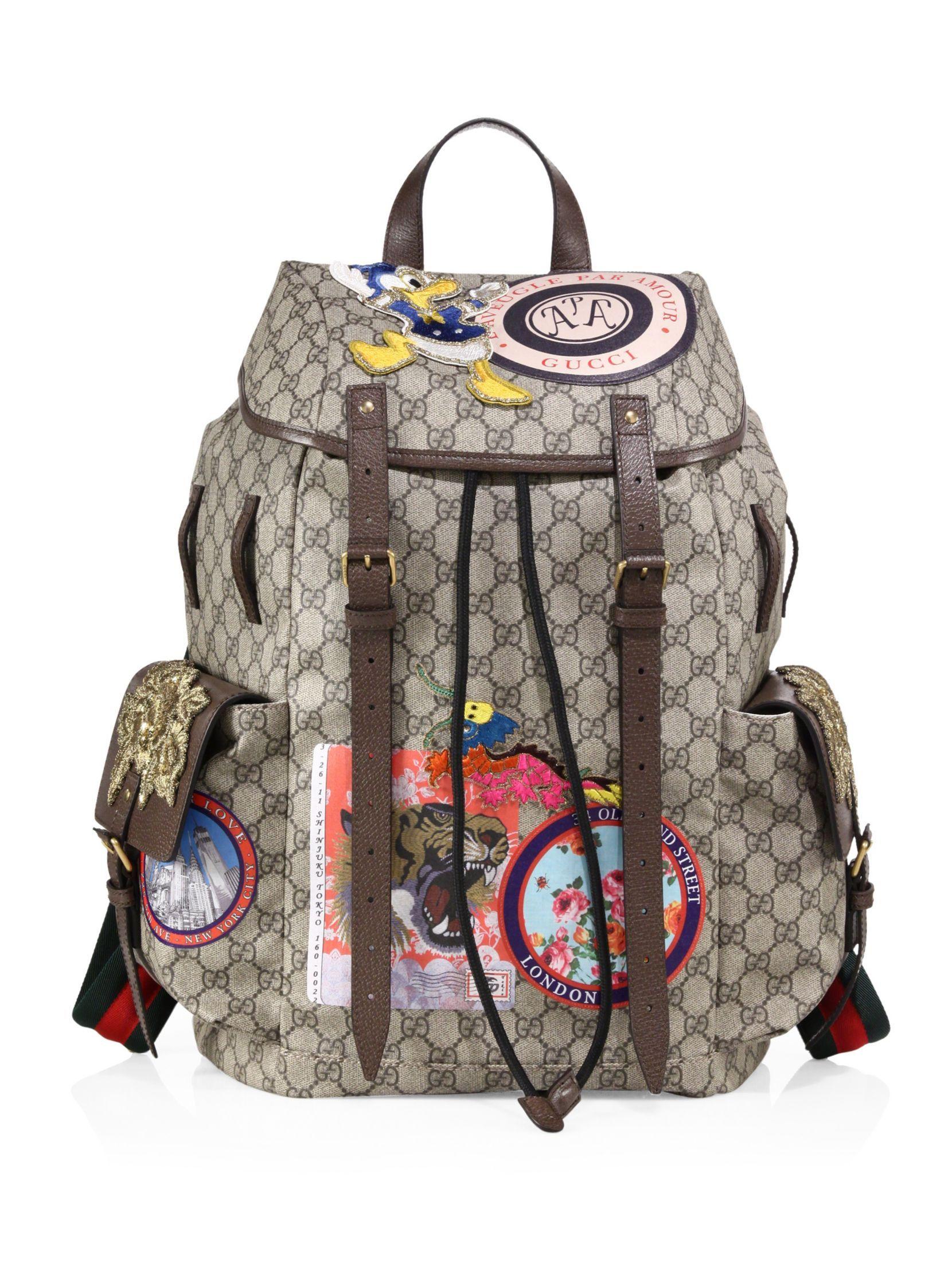 7b26b46c718d Gucci Soft GG Supreme Backpack Supreme Backpack