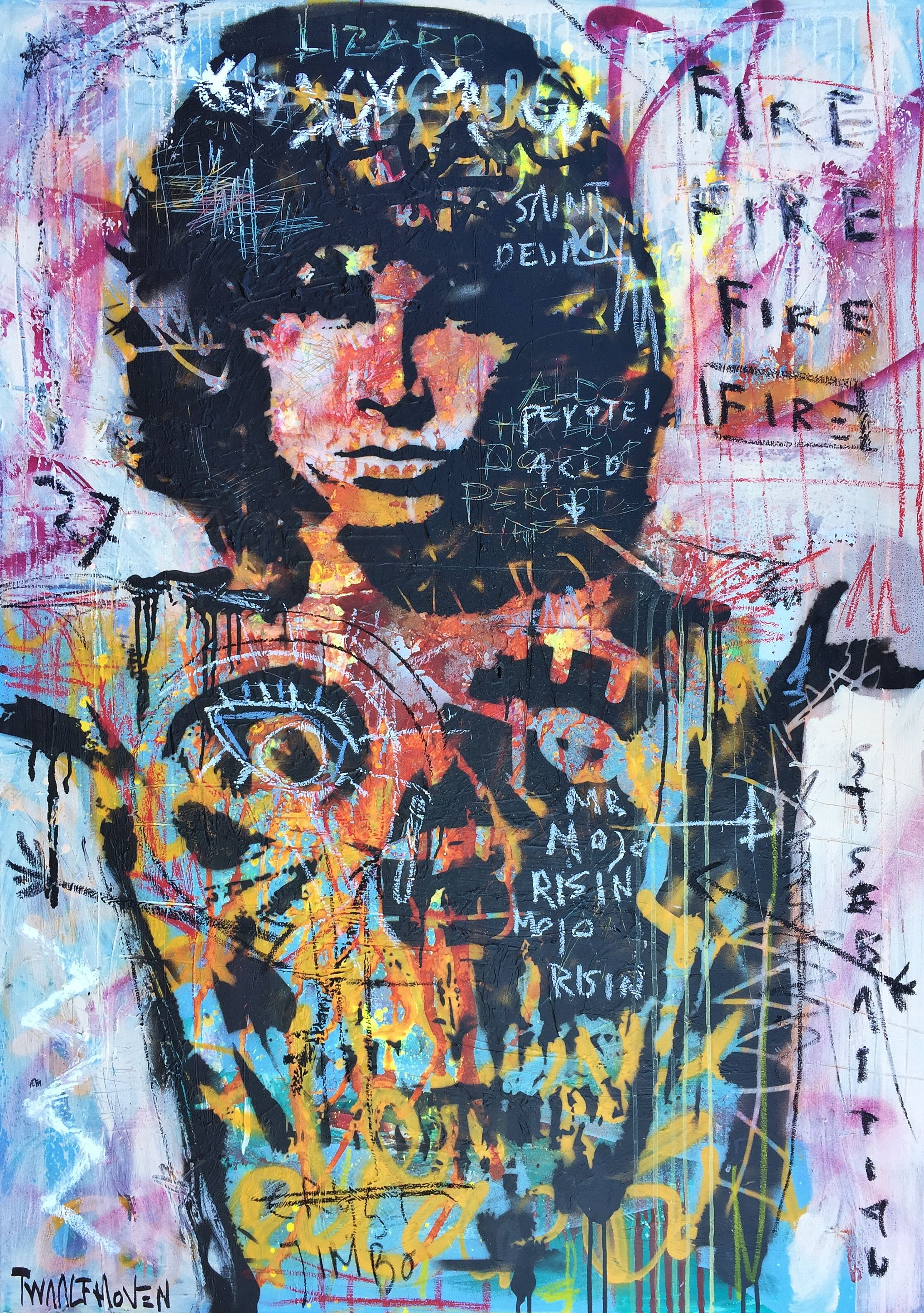 Jim Morrison The Doors Art Kunst Nick Twaalfhoven In 2019