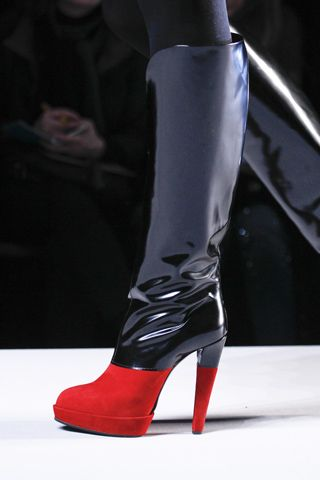 Victor & Rolf Black and Red Boots