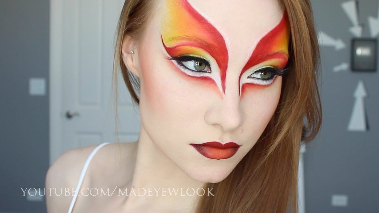 This is so cool i wanna do this for halloween cirque du soleil cirque du soleil makeup tutorial via madeyewlook by lex baditri Images
