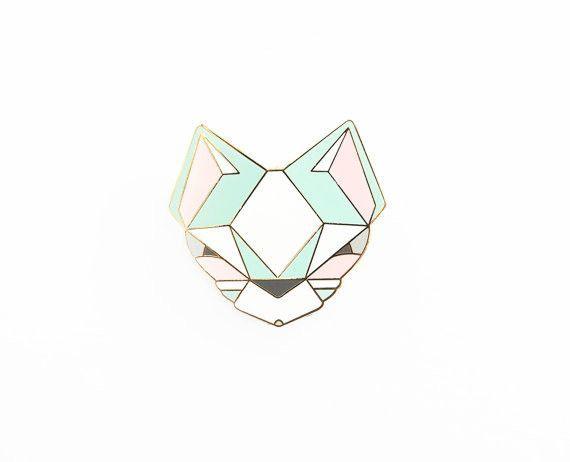 Pastel Cat Brooch