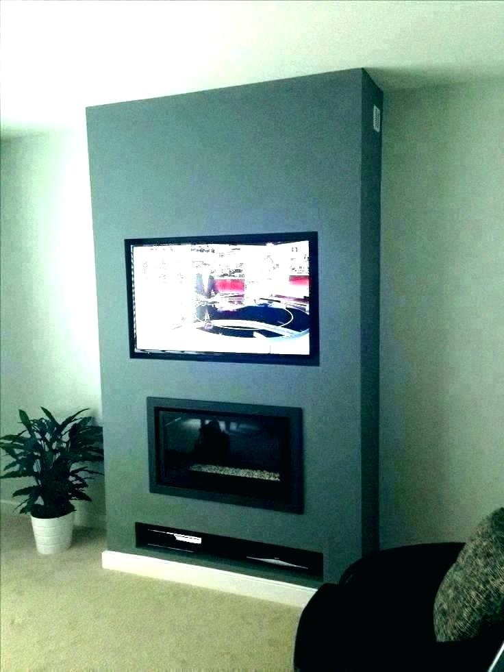 Hottest Free Of Charge Brick Fireplace With Tv Above Popular How To Hide Wires Behind Tv Wall Mounted Apartment Cabl In 2020 Hide Wires On Wall Hide Wires Hide Cables