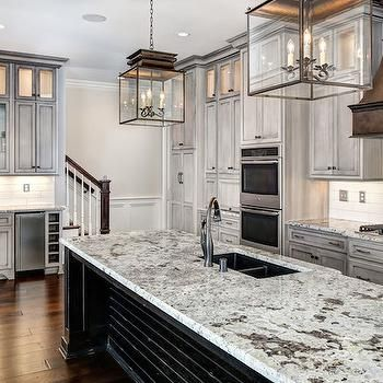 Best Distressed Kitchen Cabinets Transitional Kitchen 400 x 300