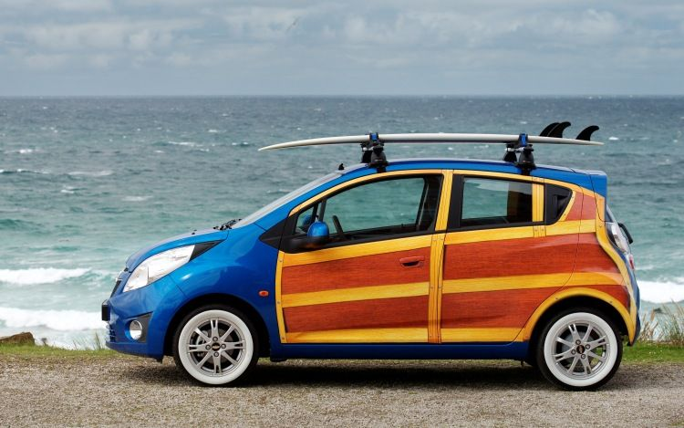 Chevrolet Spark Woody Voiture Toyota Volkswagen