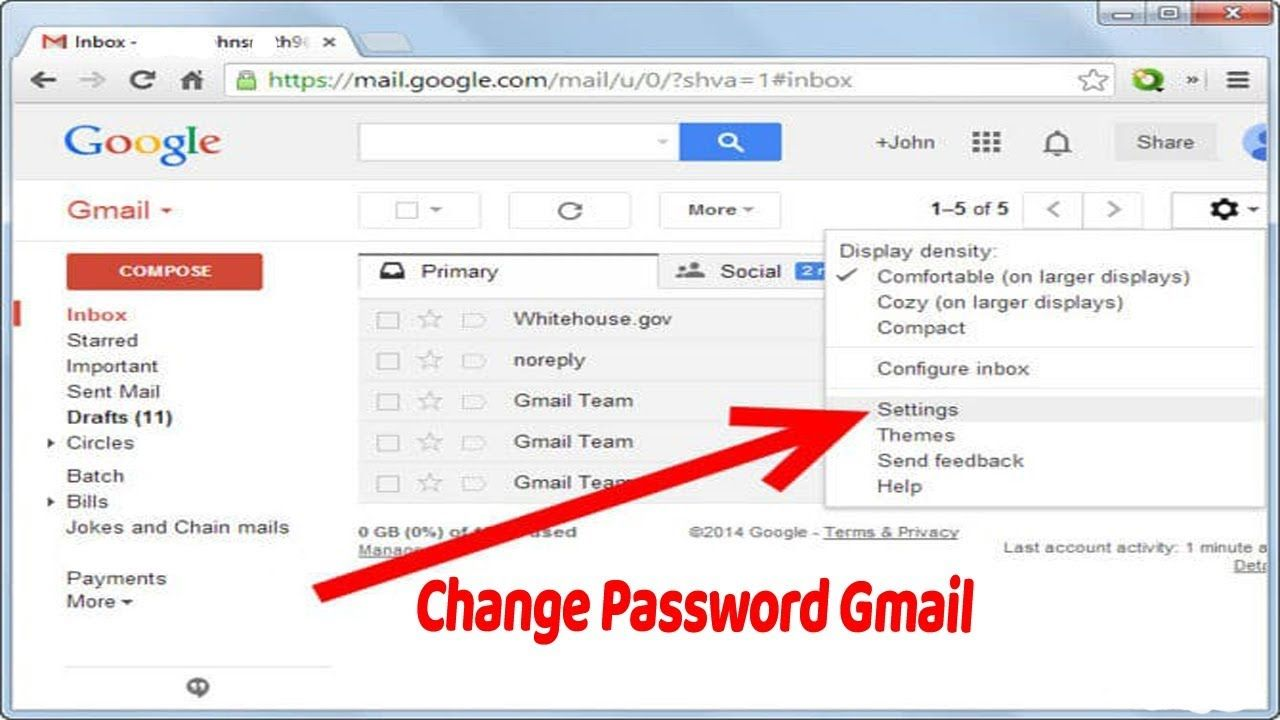 How Do I Change Gmail Password In Android Phone Android Phone Phone Passwords