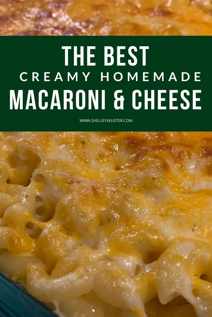 Creamy Southern Style Macaroni and Cheese Bake