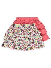 PAW PATROL GIRLS 2 PACK OF TIERED FRILL SKIRTS