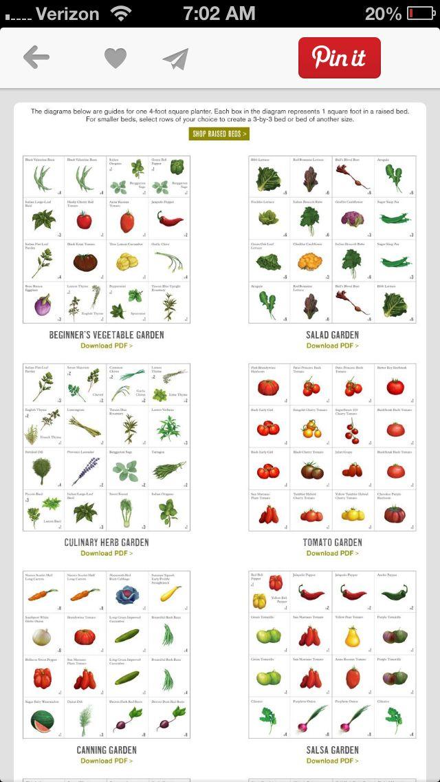 Planting Vegetable Garden Planner Tomato Garden Garden Planner