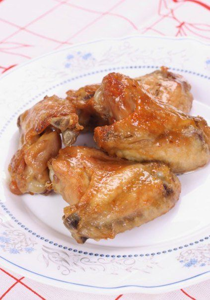 Ароматные куриные крылышки