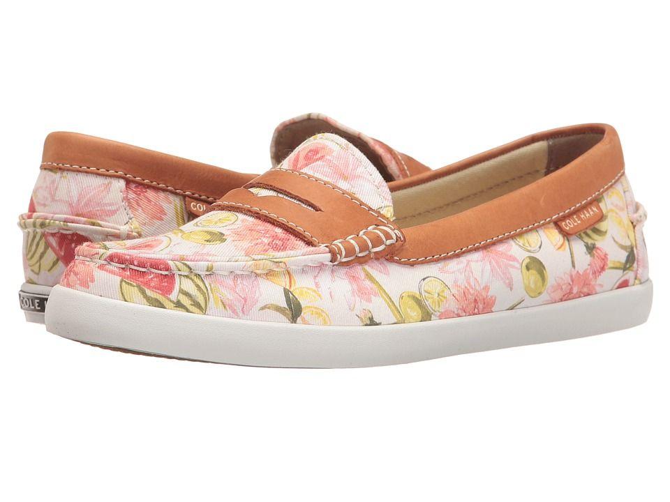 c93c0288ea7 COLE HAAN COLE HAAN - PINCH WEEKENDER (FLORAL PRINT BRITISH TAN LEATHER)  WOMEN S SLIP ON SHOES.  colehaan  shoes