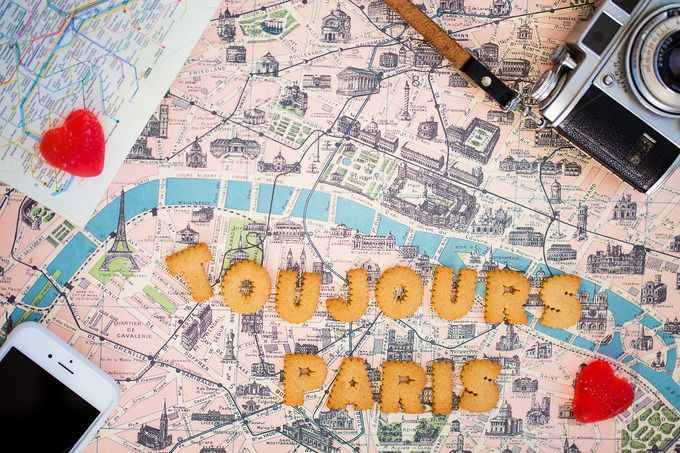Check out Cookies say Toujours Paris on map by Laura Stolfi Fotografie on Creative Market
