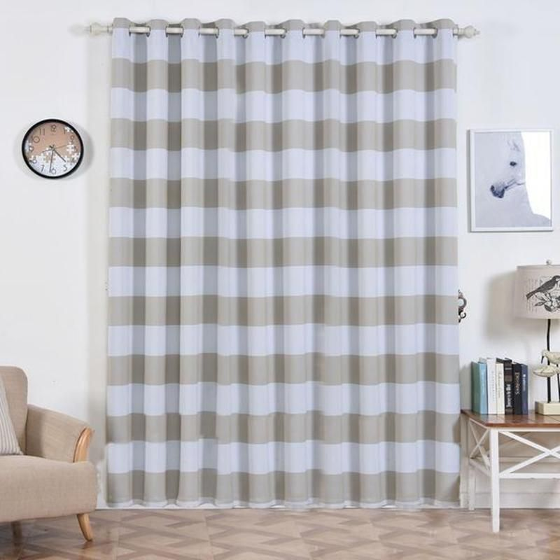 Cabana Stripe Curtains Pack Of 2