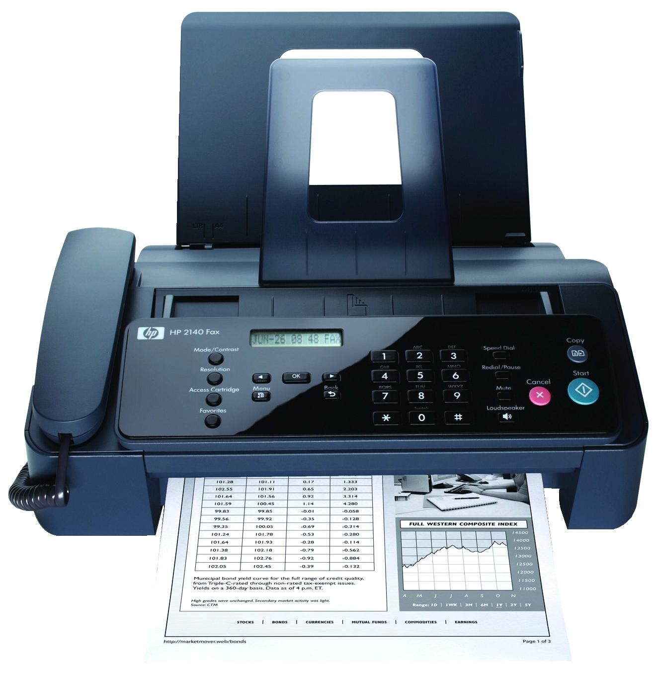 Fax Machine PNG Image Fax, Plain, Document cameras