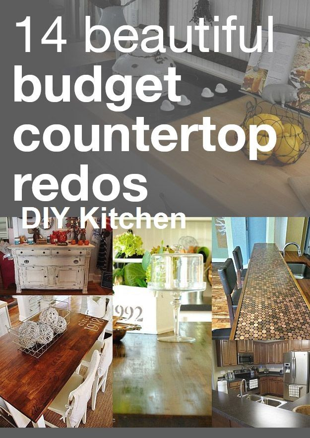 10 Brilliant Easy Kitchen Accessory Projects 2 Diy Countertops
