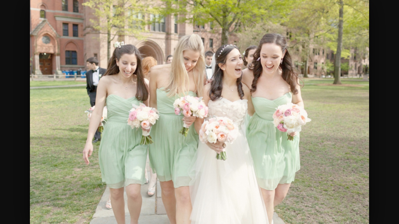 Green bridesmaids dress  Pin by Victoria Chan on Bridesmaid dress  Pinterest