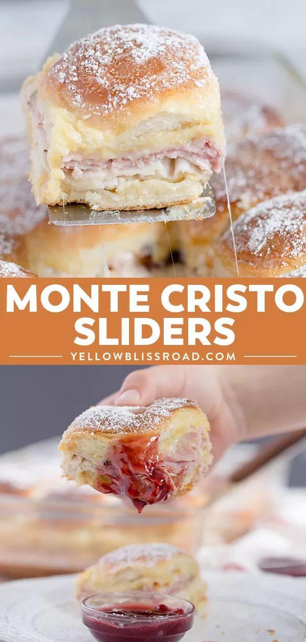 Monte Cristo Sandwich Sliders