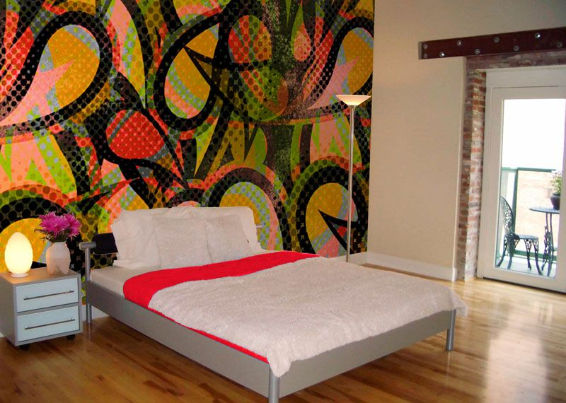 graffiti bedroom | Design Ideas That Can Really Tie in a Room | Toys ...