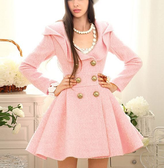 Fashionable PInk Coat for girls Pink Pad - the app for women ...