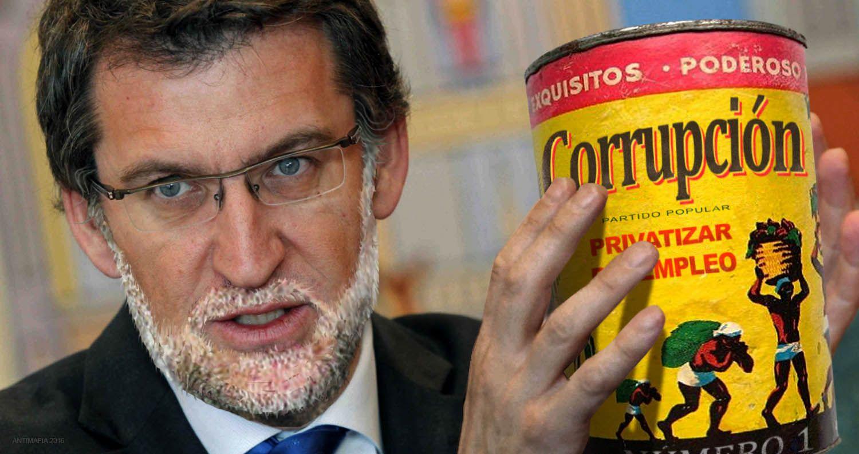 El Partido Popular, el de la corrupción, gana en Galicia