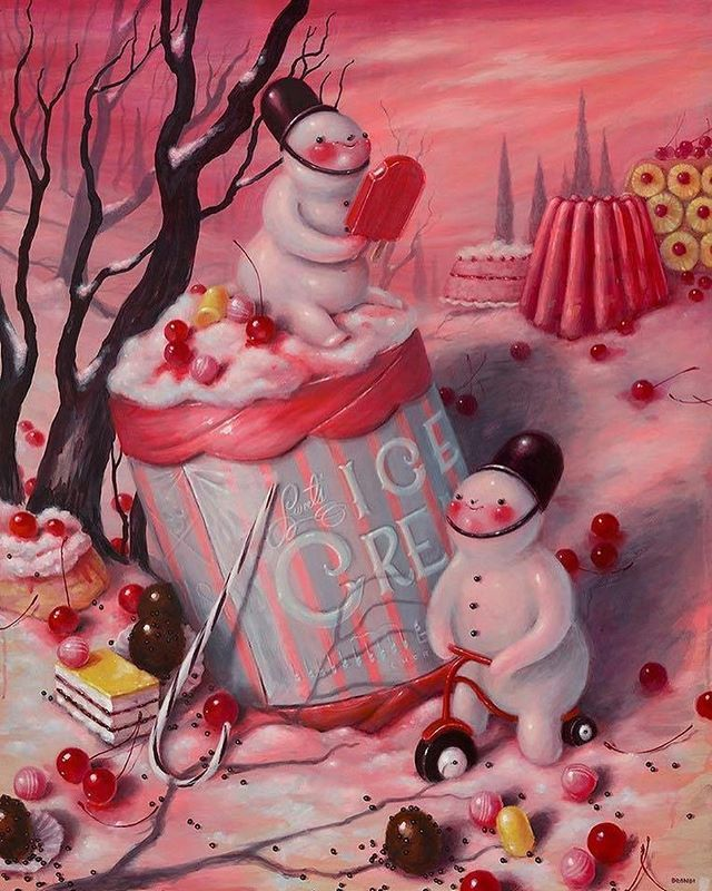 Not long now till Christmas!! Enjoy these yummy little snowmen by