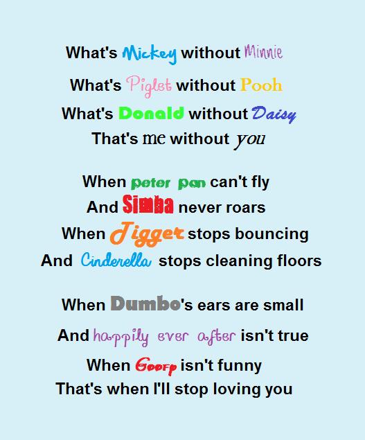Disney Poem Disney Kid Pinterest Poem Disney