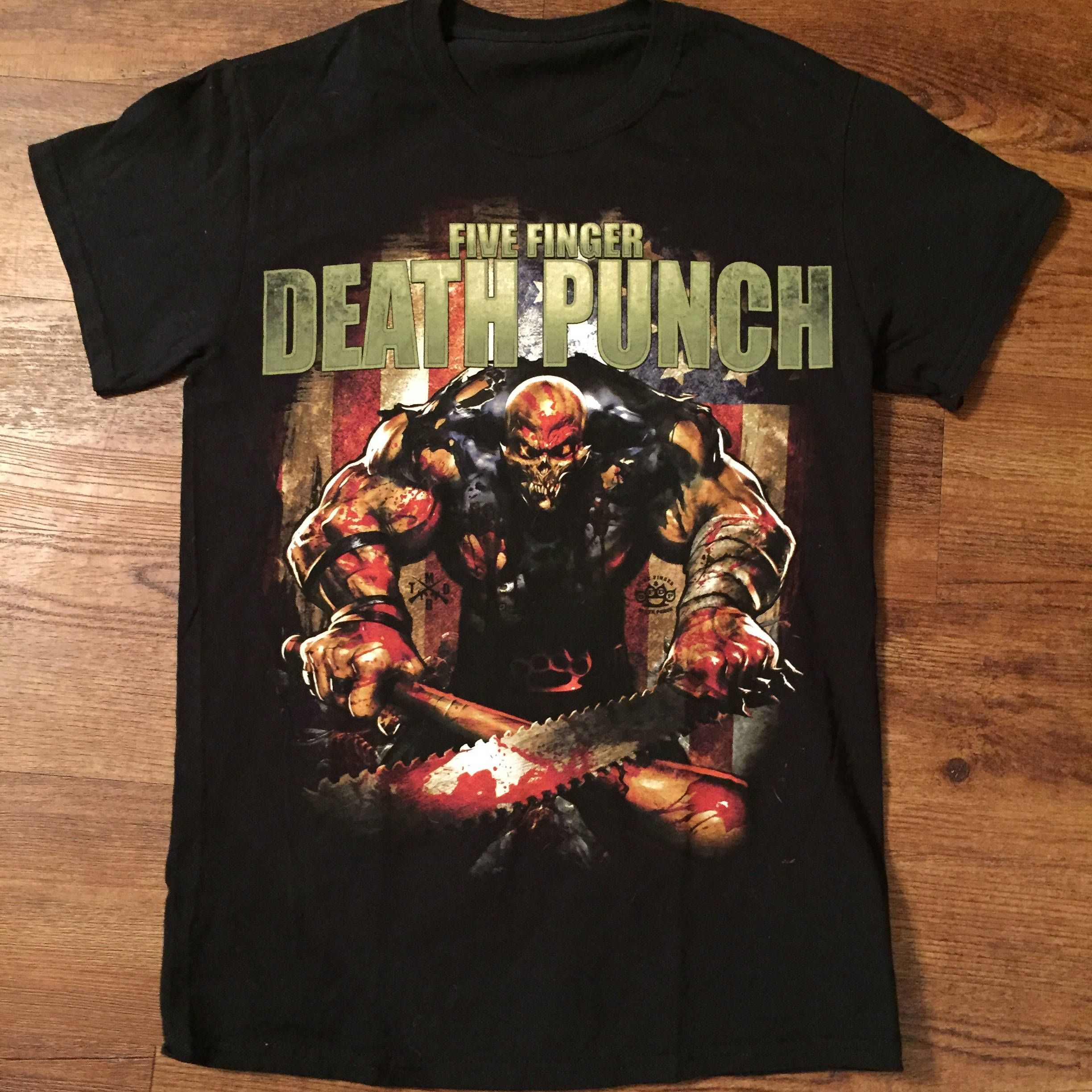 Pin By M Greyface On A Shirt With Images Metal Band Shirts Band Shirts Five Finger Death Punch