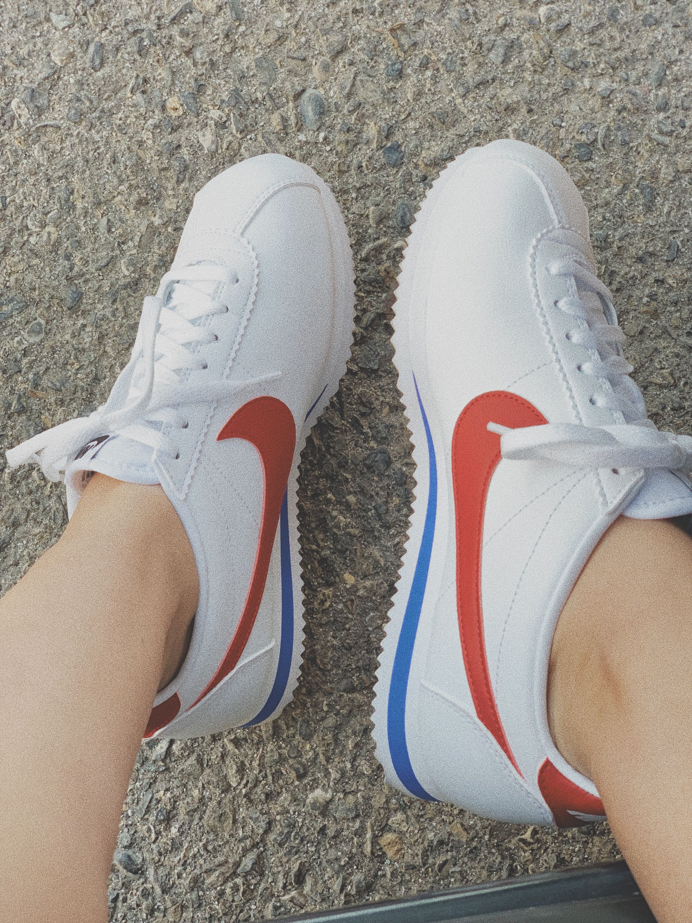 7356d2f4 Nike Classic Cortez - White/Varsity Royal/Varsity Red | Shoes in ...