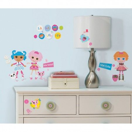 Lalaloopsy Wall Decals RoomMates Peel and Stick Décor