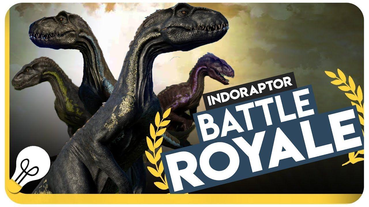 Indoraptor Battle Royale Jurassic World Evolution Gameplay Jurassic World Jurassic World Fallen Kingdom Jurassic