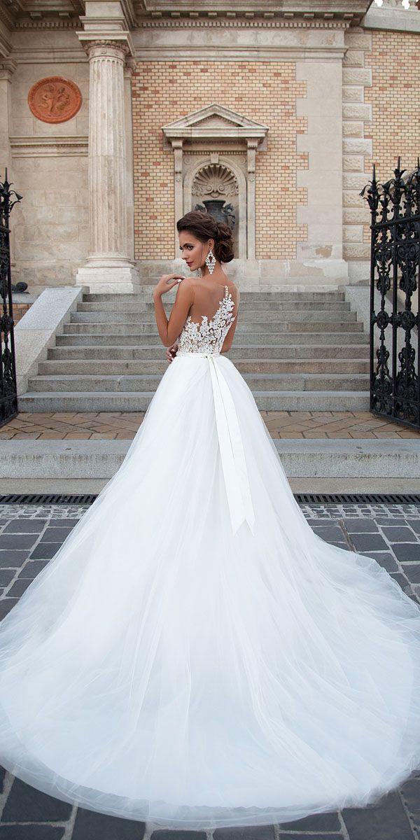 Milla Nova 2016 Bridal Collection - Chelsi Romantic Wedding Dresses 7fc0709b3cd