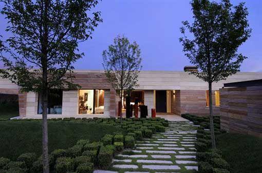 Arquitectura integrada con el medio ambiente. Una casa de A-Cero Arquitectos