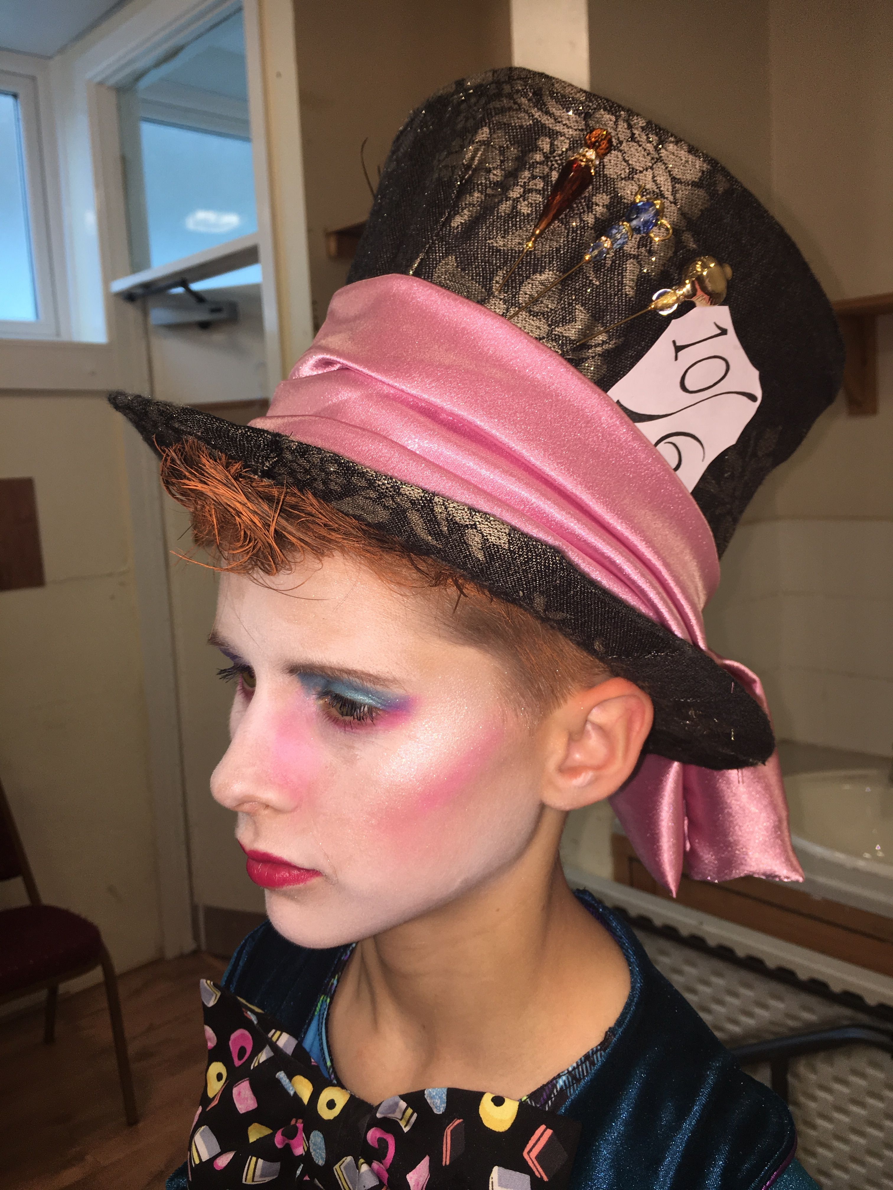 Pin by Karen Lewing on Mad hatter costume and make up