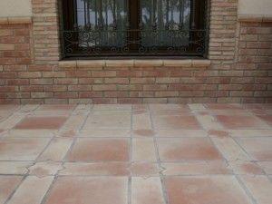 suelos de exterior de barro cocido pisos rusticos pisos de